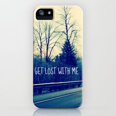 GET LOST on HWY 101 iPhone (5, 5s) Slim Case