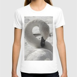 S is for Swan by Teresa Thompson T-shirt
