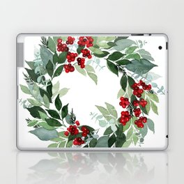 Holly Berry Laptop & iPad Skin