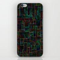 matrix iPhone & iPod Skins featuring Matrix by Jacqueline Maldonado
