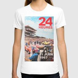 Le Mans 1967, 24hs Le Mans, 1967, original vintage poster T-shirt