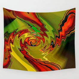 """""""The work of art is the riddle which no reason can dominate """"  Wall Tapestry"""