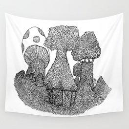 Mushroom shade Wall Tapestry