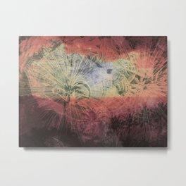 Chaos and Palm Trees Metal Print