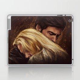 Don't Get Too Close, It's Dark Inside Laptop & iPad Skin