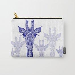 GIRAFFE BLUE Carry-All Pouch