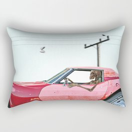 The last mile. Rectangular Pillow