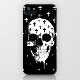 After Market, gothic skull iPhone Case