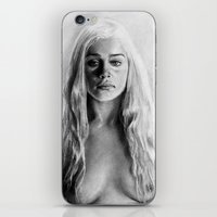 targaryen iPhone & iPod Skins featuring Stormborn by apostatemages