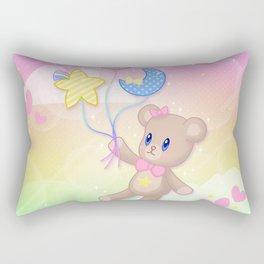 Floating Through Dreamland Rectangular Pillow
