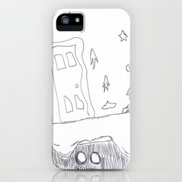 Monster Under the Bed iPhone Case