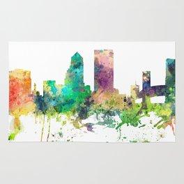 Jacksonville, Florida skyline SP Rug