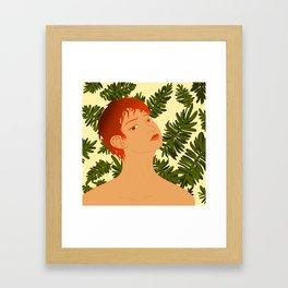 Leaf Me Be Framed Art Print