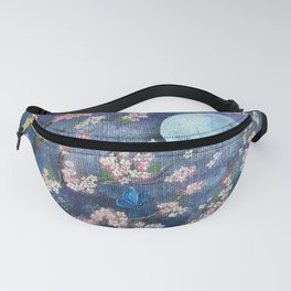 Spring moon Fanny Pack