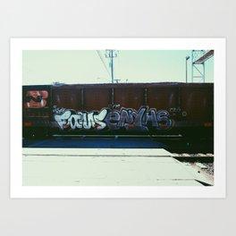 CYM Art Print