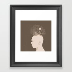 NATURE PORTRAITS 03 SIMPLIFIED Framed Art Print