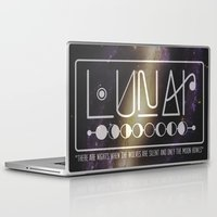 lunar Laptop & iPad Skins featuring Lunar by Nate Compton