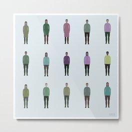 Humans #683,169,695 Metal Print