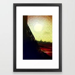 The Skytrain Framed Art Print