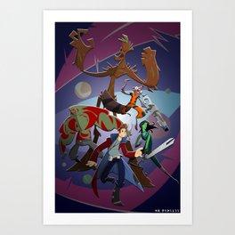 Guardians of the Galaxy (Print) Art Print