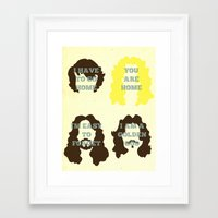 """almost famous Framed Art Prints featuring """"Untitled"""" by Derek Eads"""