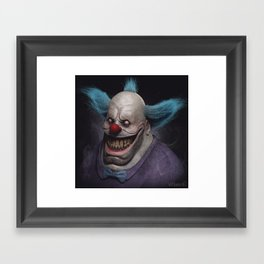 Krusty the Clown Framed Art Print