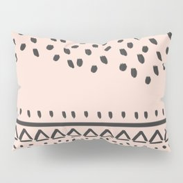 Collage and mix of different textures- trendy technique of graphic design, it will add zest to your Pillow Sham