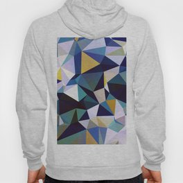 Abstract Geometric Triangle Pattern Hoody