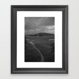 Foottrail, Skidaway Island State Park Framed Art Print