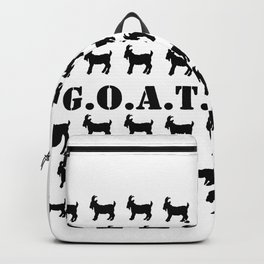 The GOAT Print Backpack