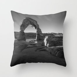 Sunrise Delicate Arch Throw Pillow
