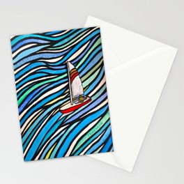 Wind Over Water Stationery Cards