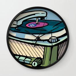radio gramophone Wall Clock