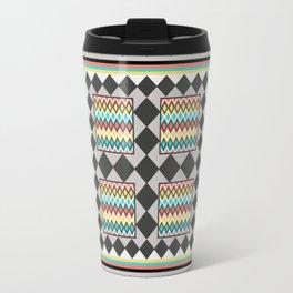 Tribal Patch Work Quilt Travel Mug