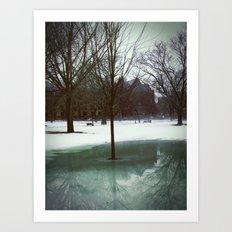Bare Reflection Art Print