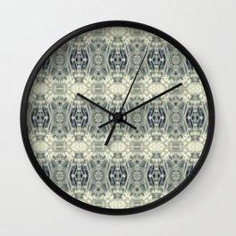 Poppy Collage Wall Clock