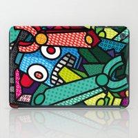 artsy iPad Cases featuring Artsy Bot by Brandon Ortwein