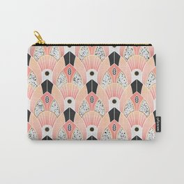 Blush Deco Carry-All Pouch