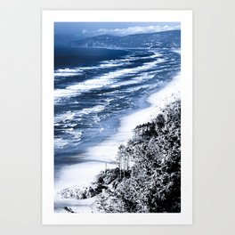 Cape Lookout Netarts Art Print