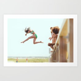 Might as Well Jump Art Print