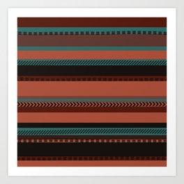 Southwestern Dusk Art Print