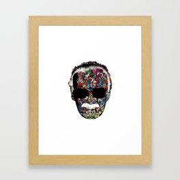 Stan Lee - Man of many faces Framed Art Print