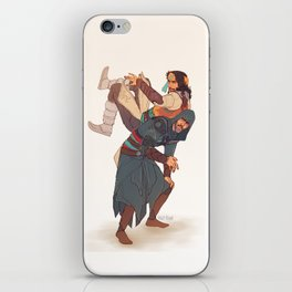 ACR hook and run iPhone Skin