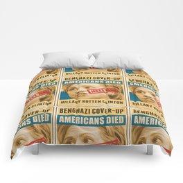 Hell No Hillary Comforters