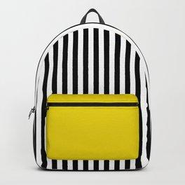 Liquorice allsorts, yellow Backpack