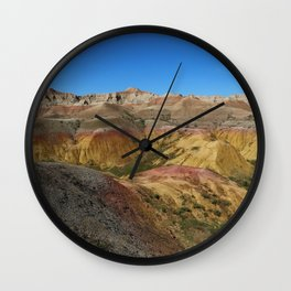 A Colorful World Wall Clock