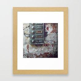 allo ? Framed Art Print