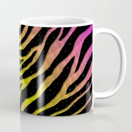 Ripped SpaceTime Stripes - Pink/Yellow Coffee Mug