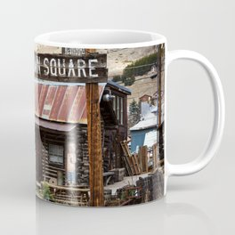 Old Town Square - Silverton, Colorado Coffee Mug