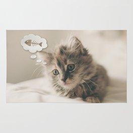 Dreaming Cat Rug